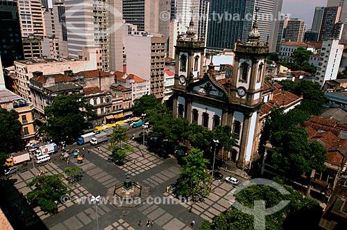 Assunto: Vista do Largo de São Francisco - Igreja de São Francisco de Paula / Local: Centro - Rio de Janeiro (RJ) - Brasil / Data: 10/2007
