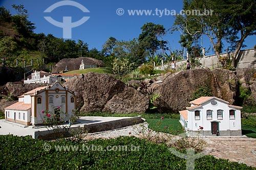 Assunto: Mini Estrada Real - Parque Temático Histórico e CulturalMiniatura da trilha do Ouro - Paraty / Local: Paraty - Rio de Janeiro (RJ) - Brasil / Data: 07/2011