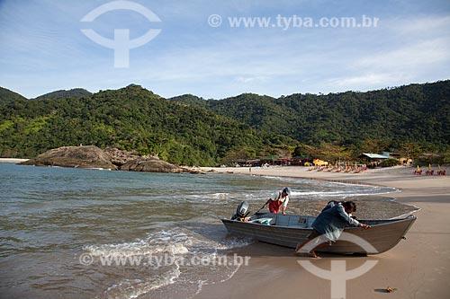 Assunto: Praia de Trindade  / Local: Paraty - Rio de Janeiro (RJ) - Brasil / Data: 07/2011