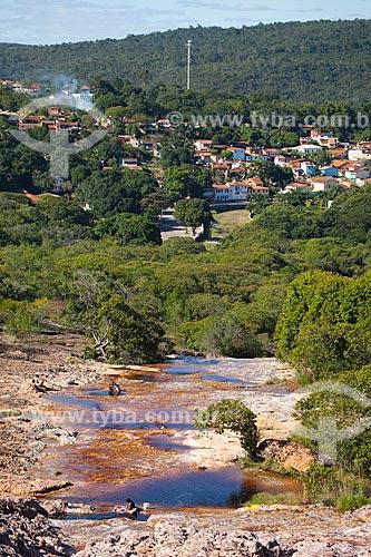 Assunto: Vista do Rio Serrano - Chapada da Diamantina / Local: Lençóis - Bahia (BA) - Brasil / Data: 07/2011