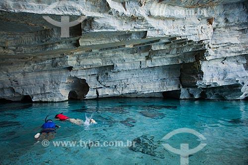 Assunto: Gruta da Pratinha - Parque Nacional da Chapada Diamantina / Local: Iraquara - Bahia (BA) - Brasil / Data: 07/2011