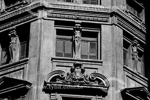 Assunto: Detalhe da janela do prédio do IPHAN / Local: Rio de Janeiro (RJ) - Brasil / Data: 07/2011