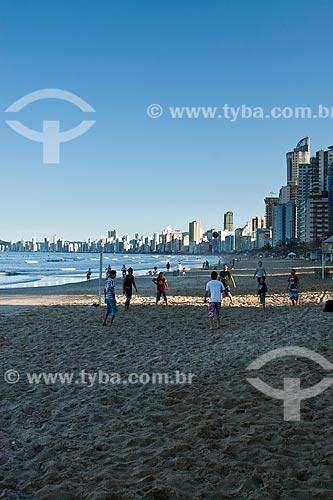 Assunto: Praia Central / Local: Balneário Camboriú - Santa Catarina (SC) - Brasil / Data: 10/2011