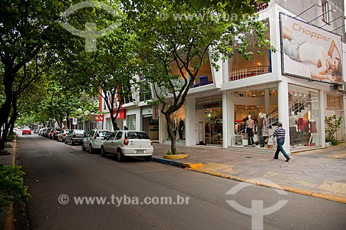 Assunto: Comércio sofisticado na Rua Moron   / Local: Passo Fundo - Rio Grande do Sul (RS) - Brasil / Data: 04/2011