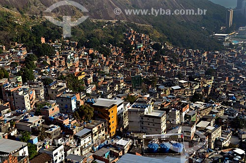 Assunto: Vista da Favela da Rocinha / Local: São Conrado - Rio de Janeiro (RJ) - Brasil / Data: 07/2011