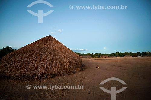 Assunto: Vista da aldeia Aiha / Local: Querência - Mato Grosso (MT) - Brasil / Data: 07/2011