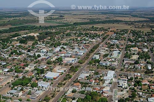 Assunto: Vista aérea da cidade de Canarana - Região Nordeste do Mato Grosso / Local: Canarana - Mato Grosso (MT) - Brasil / Data: 07/2011