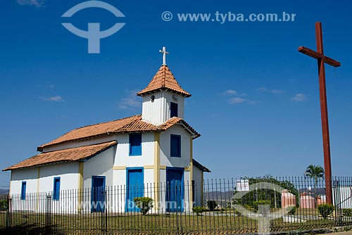 Assunto: Capela Nosso Senhor do Bonfim também conhecida como Capela do MorrinhoLocal:Montes Claros-MGData:09 / Local: Montes Claros - Minas Gerais (MG) - Brasil / Data: 09/2011