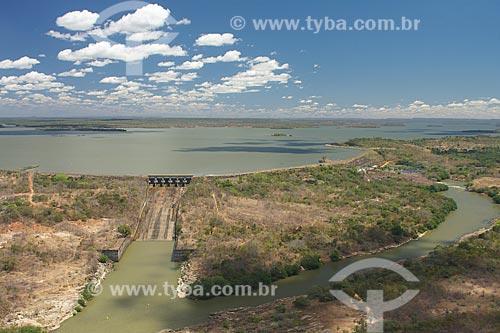 Assunto: Vista da Barragem de Boa Esperança / Local: Guadalupe - Piauí (PI) - Brasil / Data: 08/2009