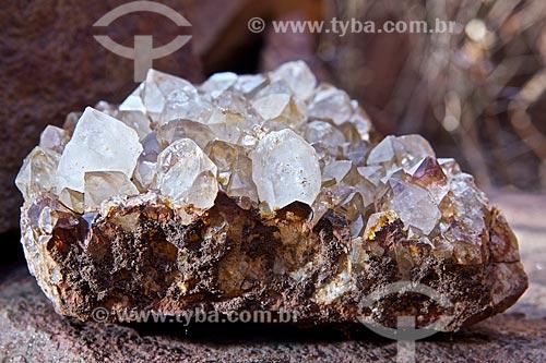 Assunto: Mina de cristal de quartzo / Local: Castelo do Piauí - Piauí (PI) - Brasil / Data: 09/2010