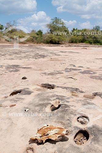 Assunto: Riacho sazonal no período da seca / Local: Teresina - Piauí (PI) - Brasil / Data: 08/2011