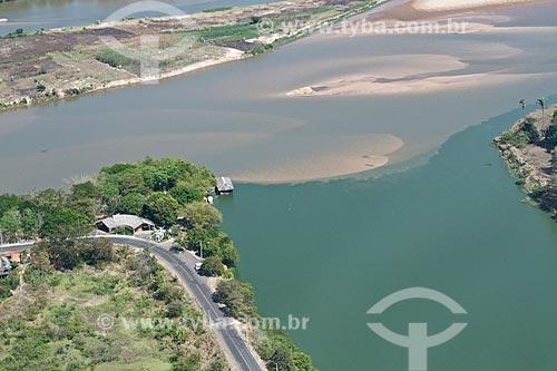 Assunto: Encontro do Rio Parnaíba com o Rio Poty - Divisa entre Timon e Teresina / Local: Teresina - Piauí (PI) - Brasil / Data: 09/2011