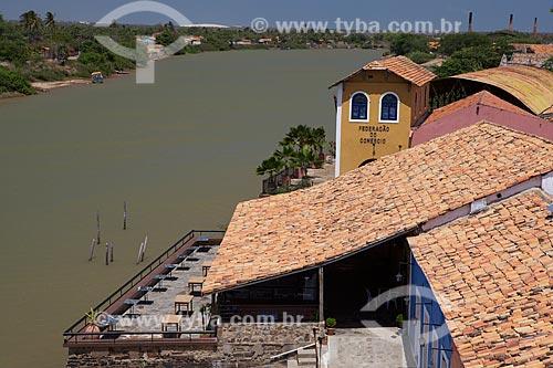 Assunto: Vista do Porto das Barcas às margens do rio Igaraçu / Local: Parnaíba - Piauí (PI) - Brasil / Data: 11/2010