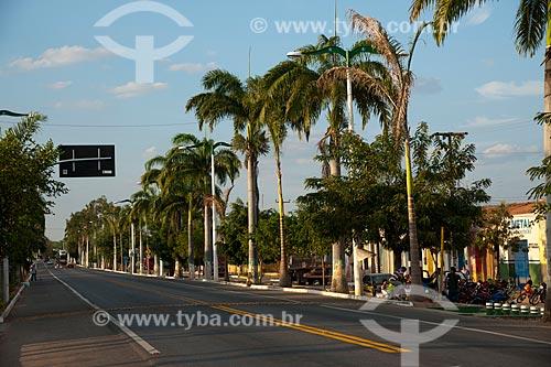 Assunto: Trecho urbano da Rodovia Santos Dumont - BR-116 / Local: Brejo Santo - Ceará (CE) - Brasil / Data: 10/2011