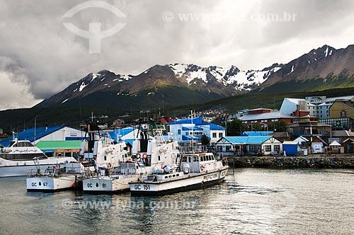 Assunto: Porto de Ushuaia / Local: Ushuaia - Província Terra do Fogo - Argentina - América do Sul / Data: 02/2010