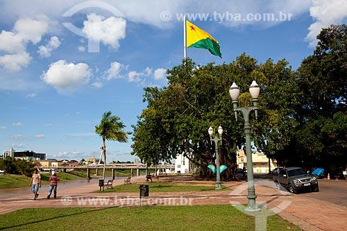 Assunto: Calçadão da Gameleira / Local: Rio Branco - Acre (AC) - Brasil / Data: 11/2011
