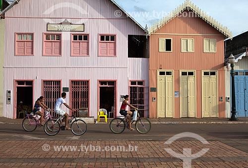 Assunto: Calçadão da Gameleira com casario ao fundo / Local: Rio Branco - Acre (AC) - Brasil / Data: 11/2011
