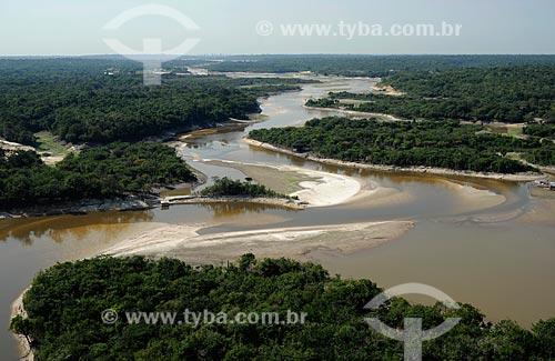 Assunto: Vista do Rio Tarumã-Açu / Local: Manaus - Amazonas (AM) - Brasil / Data: 11/2010
