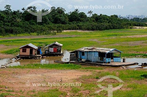 Assunto: Casas flutuantes  / Local: Iranduba - Amazonas (AM) - Brasil / Data: 11/2010