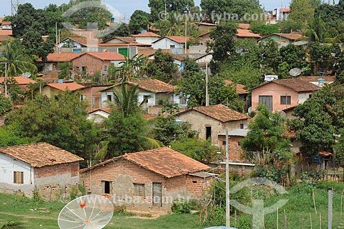 Assunto: Vista de casas simples / Local: Araçuaí - Minas Gerais (MG) - Brasil / Data: 11/2011