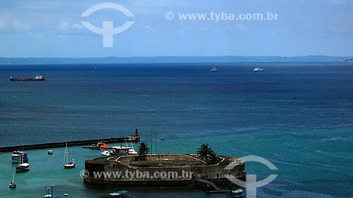 Assunto: Forte de Nossa Senhora do Pópulo e São Marcelo (Forte do Mar) / Local: Salvador - Bahia (BA) - Brasil / Data: 01/2012