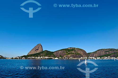 Assunto: Competição de regatas com Pão de Açúcar ao fundo / Local: Rio de Janeiro (RJ) - Brasil / Data: 04/2011