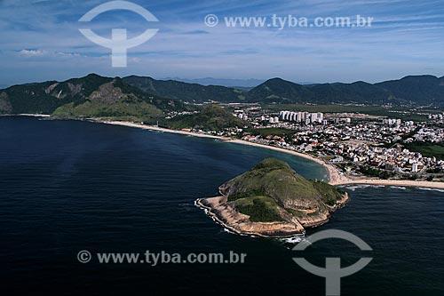 Assunto: Vista da Praia do Recreio e da Praia do Pontal / Local: Recreio dos Bandeirantes - Rio de Janeiro (RJ) - Brasil / Data: 01/2012