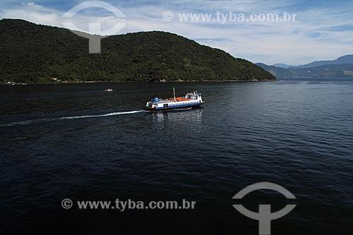 Assunto: Barco que liga Mangaratiba à Ilha Grande / Local: Mangaratiba - Rio de Janeiro (RJ) - Brasil / Data: 01/2012