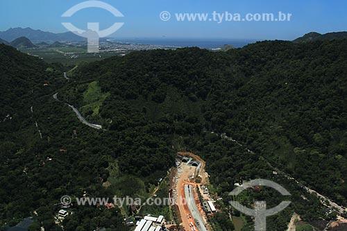 Assunto: Tunel da Grota Funda - Acesso para o Recreio dos Bandeirantes / Local: Rio de Janeiro (RJ) - Brasil / Data: 01/2012