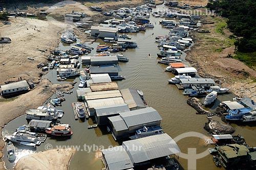 Assunto: Vista da Marina do Davi - maior seca registrada / Local: Manaus - Amazonas (AM) - Brasil / Data: 11/2010