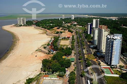 Assunto: Vista da Avenida Coronel Teixeira com Hotel Tropical ao fundo / Local: Manaus - Amazonas (AM) - Brasil / Data: 11/2010