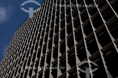 Assunto: Detalhe da fachada do Palácio Gustavo Capanema (Antigo prédio do MEC) / Local: Centro - Rio de Janeiro (RJ) - Brasil / Data: 09/2011
