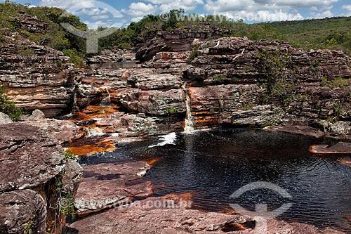 Assunto: Cachoeira Recanto da Orquídeas / Local: Ibicoara - Bahia (BA) - Brasil  / Data: 01/2012
