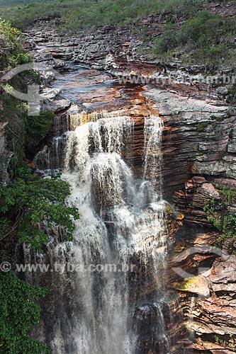 Assunto: Cachoeira do Buracão / Local: Ibicoara - Bahia (BA) - Brasil / Data: 01/2012