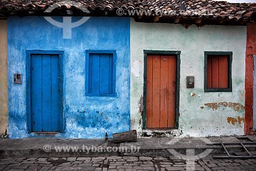 Assunto: Casario histórico em Igatu / Local: Andaraí - Bahia (BA) - Brasil / Data: 01/2012