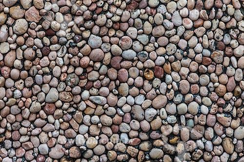 Assunto: Detalhe de parede de pedra de casario histórico de Igatu / Local: Andaraí - Bahia (BA) - Brasil / Data: 01/2012