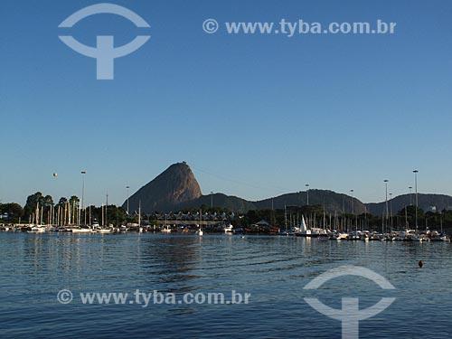 Assunto: Marina da Glória com Pão de Açúcar ao fundo / Local: Glória - Rio de Janeiro (RJ) - Brasil / Data: 02/2012