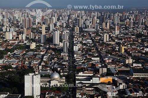 Assunto: Vista aérea de Fortaleza / Local: Centro - Fortaleza - Ceará (CE) - Brasil / Data: 12/2011