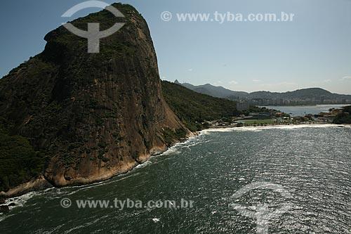 Assunto: Vista aérea da Escola de Educação Física do Exército e do Pão de Açúcar / Local: Urca - Rio de Janeiro (RJ) - Brasil / Data: 09/2011
