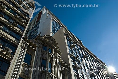 Assunto: Edifícios comerciais na Rua dos Andradas / Local: Porto Alegre - Rio Grande do Sul (RS) - Brasil / Data: 12/2011