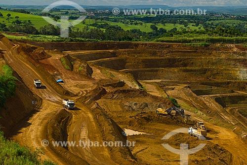 Assunto: Mina de Fosfato / Local: Araxá - Minas Gerais (MG) - Brasil / Data: 02/2009