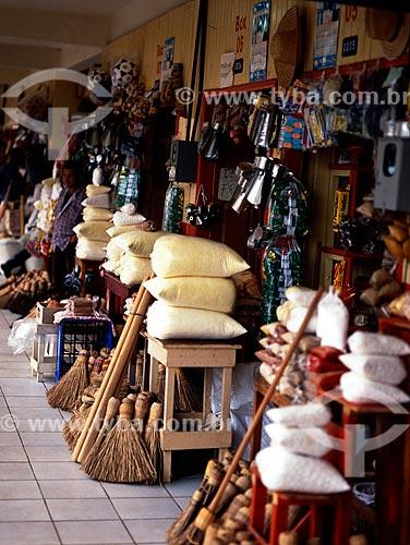 Assunto: Vista do interior do Mercado Público  / Local: Cruzeiro do Sul - Acre (AC) - Brasil  / Data: 2004
