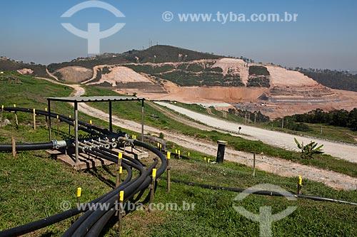Assunto: Estação coletora de poços de Biogás no Aterro Sanitário Sítio São João  / Local: São Paulo (SP) - Brasil / Data: 09/2011