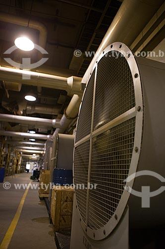 Assunto: Ventilador de Exaustão dos motogeradores de usina de geração Termoelétrica movida a Biogás - São João Energia Ambiental   / Local: São Paulo (SP) - Brasil / Data: 09/2011