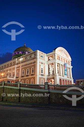 Assunto: Teatro Amazonas / Local: Manaus - Amazonas (AM) - Brasil / Data: 10/2011