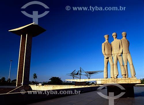 Assunto: Monumento aos Mortos da Segunda Guerra Mundial - Monumento aos Pracinhas / Local: Rio de Janeiro (RJ) - Brasil / Data: 04/2009