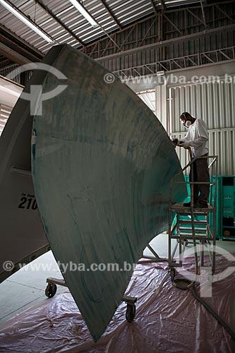 Assunto: Fábrica Wobben Windpower / Enercon - Fabricação de turbinas e pás E-70 para aerogeradores / Local: Sorocaba - São Paulo (SP) - Brasil  / Data: 09/2011