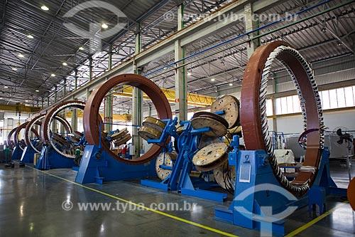 Assunto: Fábrica Wobben Windpower / Enercon - Fabricação dos Geradores E-82  / Local: Sorocaba - São Paulo (SP) - Brasil  / Data: 09/2011