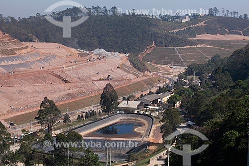 Assunto: Poço de depósito de chorume no Sítio São João  / Local: São Paulo - São Paulo (SP) - Brasil  / Data: 09/2011