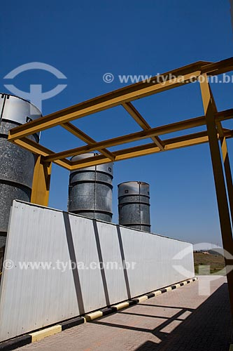 Assunto: Usina Termoelétrica movida a Biogás - São João Energia Ambiental / Local: São Paulo - São Paulo (SP) - Brasil  / Data: 09/2011